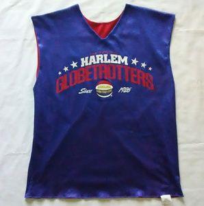 Harlem Globetrotters Reversible Basketball Jersey